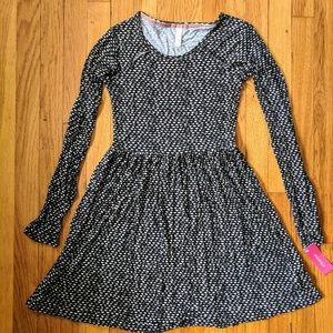NWT Xhilaration Long Sleeve Dress XS Black